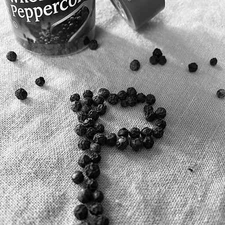 P is for Peppercorns