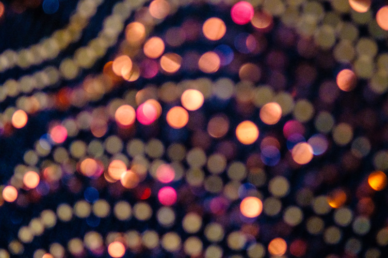 light sparkles