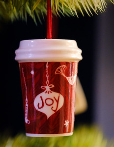 Joy in the cup too