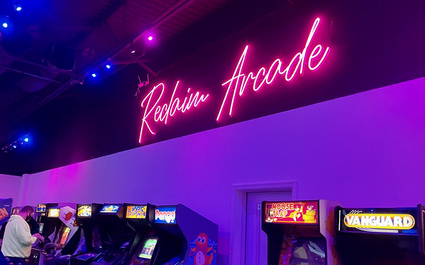 R is for Reclaim Arcade