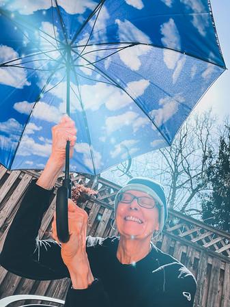 U is for Unbrella