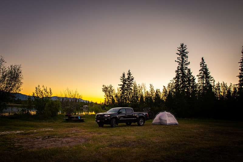 Chilcotins Camping 2021