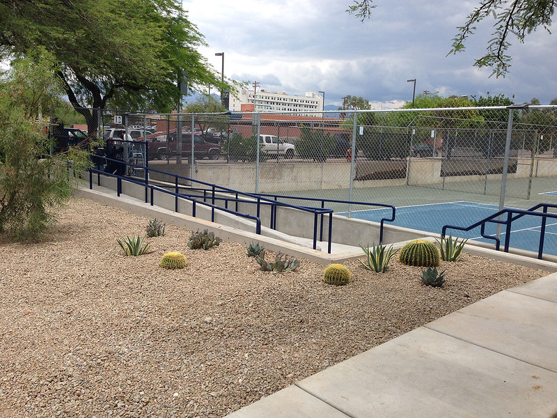 15-9252 Robson Tennis Center, Campus Recreation Improvements