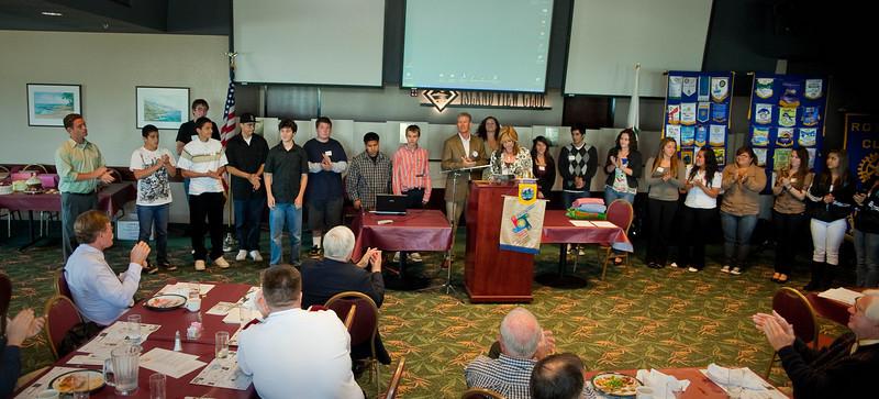 Rotary Club of Ventura Interact Bake Sale 2010