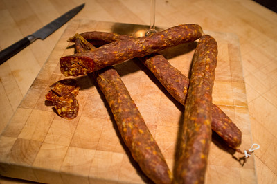 2011-12 Meat Project #2: Spanish Chorizo