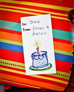 Happy (Early) Birthday, Dad!