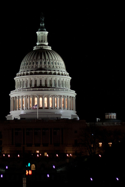 Day 019 The United States Capitol at Night