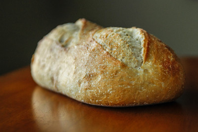 Fresh-Baked Sourdough Bread