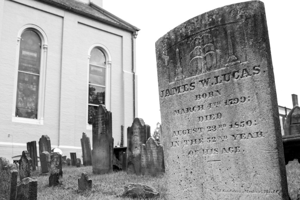 Week 39 {time} This man, James, lived a good long time in 19th century Fredericksburg. I love walking through my historic city and imagining the many changes over time.