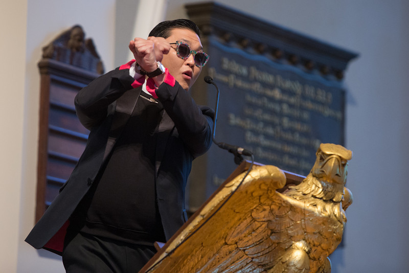 A Conversation with Korea Pop-star PSY