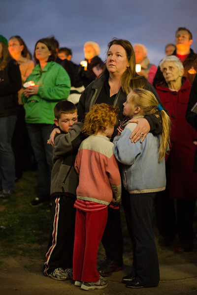 Vigil for Martin Richard, 8 Year Old Killed In Boston Marathon Blasts