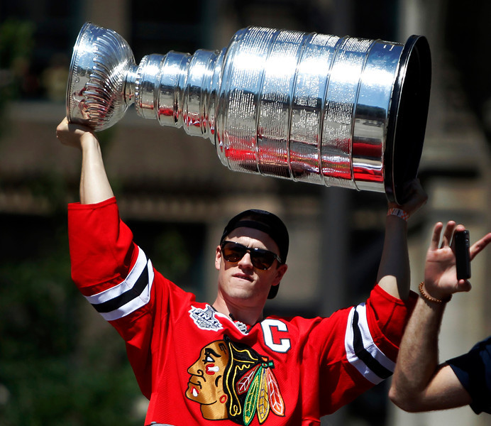Blackhawks Parade Hockey