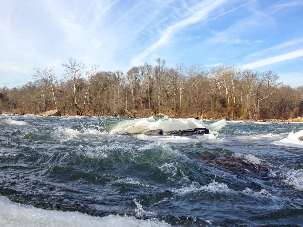 Icy Roaring Rapids