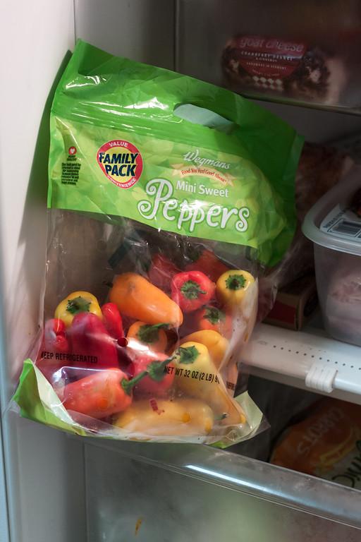 Mini Sweet Peppers Family Pack from Wegmans