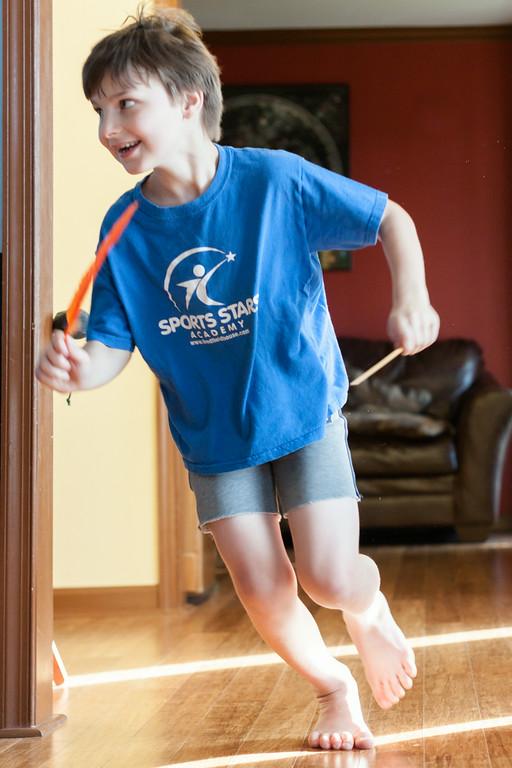 Running Around The House