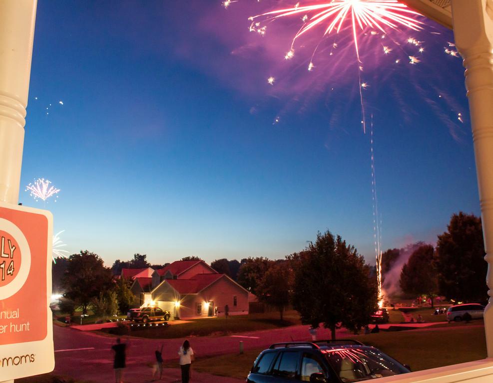 Neighborhood Fireworks