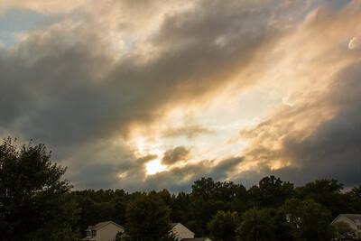 Post Rainstorm Sunset