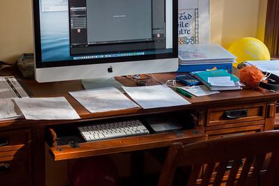 My Desk: Starting a New Lightroom Catalog