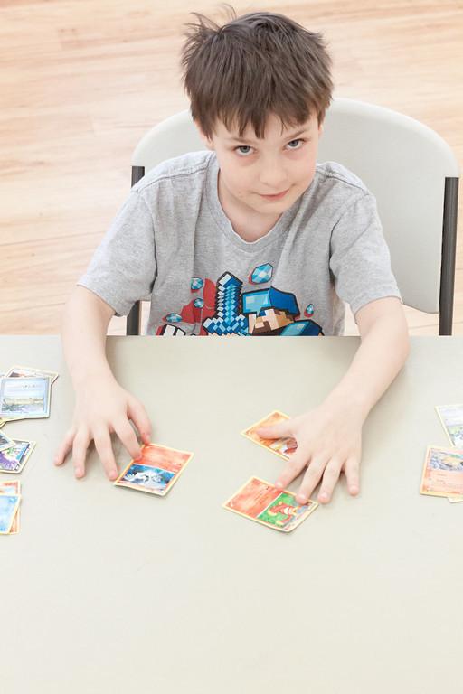 Ian Brought Pokemon Cards