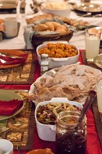 Turkey Day -- The Food