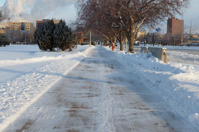 Sidewalk on Broadway