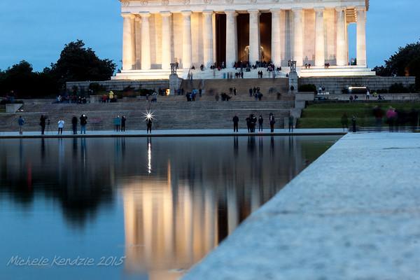 Long Exposure Lincoln Memorial