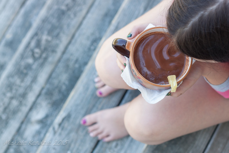 Food Photography: Caroline and Hot Chocolate