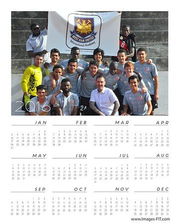 2016 Sandy Springs FC Calendars