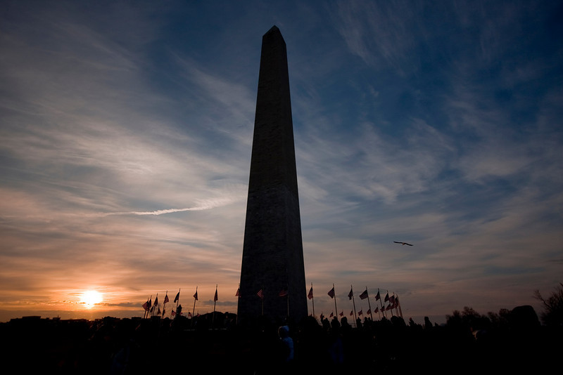 """January 20, 2009, Washington, D.C.: Witnessing history.  The last things my mother said this morning were, """"Enjoy this for me. Enjoy it for your grandparents.""""  I did, but even after so many weeks and months, I think it's still sinking in."""