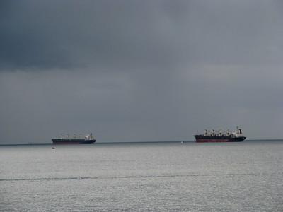 English Bay gradients