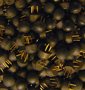 2N3904  Common type of transistor; I just happen to have a lot of them.