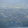 Home from Seymour<br /> <br /> My neighborhood as seen from Mount Seymour.