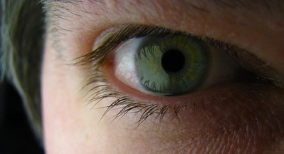 """I Eye  Which eye does your """"I"""" peer through? I look with both eyes, but when I need to see - to understand what I'm looking at - it's always with my right eye.  I wonder if this is more correlated with handedness or personality type, or neither."""