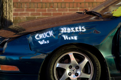 Chuck Norris was here, nuff said.