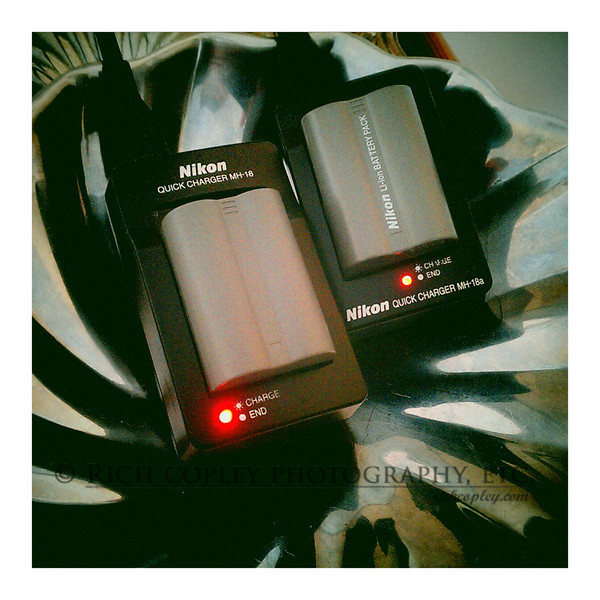 June 22, 2012 - After two days at Ichthus, photographer and DSLR's are recharging batteries. (190/366)