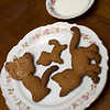 Jan. 22, 2012 - I didn't have a lot of time to work on a shot today, but I did want to document Chris' hand-shaped cookie cats he baked Saturday night. (38/366)