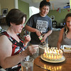 June 27, 2012 - Our kids are sticklers for putting the correct number of candles on our birthday cakes. (195/366)