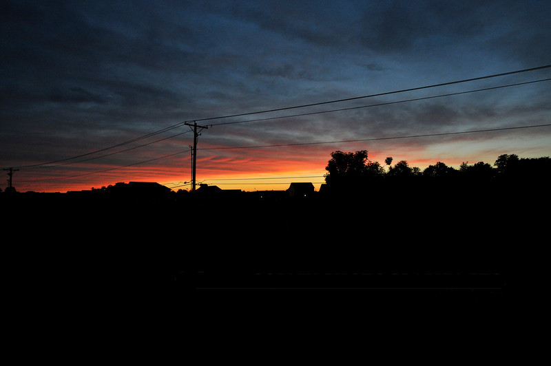 June 13, 2012 - Sometimes, sunset just makes you grab a camera. (181/366)