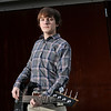 Oct. 20, 2012 - Bassman Ethan at Buster's this morning for his senior shoot. (309/366)