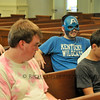 May 6, 2012 - Maxwell Presbyterian youth group gets all the superheroes (and they back the Cats). (143/366)
