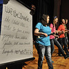 "April 11, 2012 - Day two of Bryan Station High School ""Schoolhouse Rock Live"" pics. How many of you know the preamble to the Constitution by the ""School House Rock"" song? Can you sing it in a chorus line? Watch out. Here's the shameless plug again: The show is is at 7:30 p.m. April 13 and 14. Tickets are $8 adults and $5 students and kids. (118/366)"