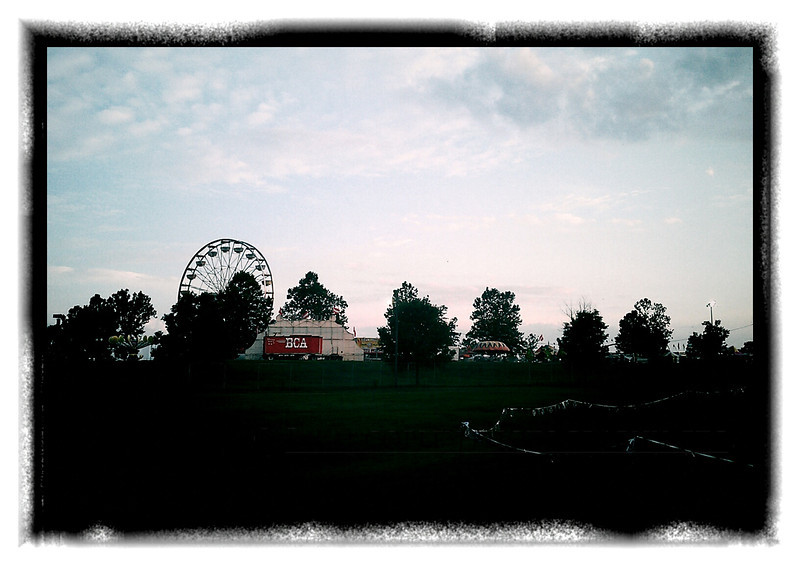 July 21, 2012 - Sunrise at the fair.