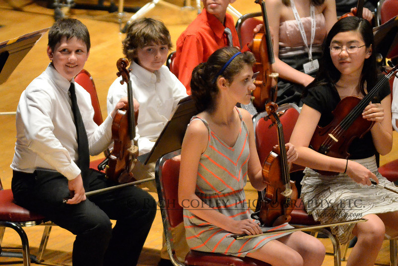 June 15, 2012 - Taking a camera for a spin at the Stephen Foster Music Camp final concert, I like the tone and resolution from the balcony at ISO 6400. BTW, this photo marks the halfway point in the 366 project. (183/366)