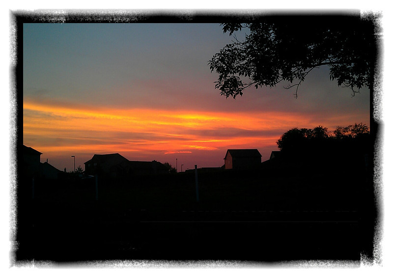 May 25, 2012 -- Sometimes, you just gotta love that sunset. (162/366)