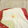 "April 12, 2012 - This was an initial effort in a project I am working on for my friend, Mary Lois. She is a retired registered nurse who makes blankets for children in the hospital in her Ohio hometown. In her description of The Blanket Train, Mary Lois writes, ""A heart is placed on each blanket so that each child and family member knows that someone cares."" I am going to be endeavoring to take photos of each blanket for Mary Lois before they are sent off to be wrapped around children that need them. (119/366)"
