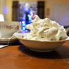 "Dec. 23, 2011 - ... and sometimes you take a photo to make people jealous, like to say, ""after I open presents, I'll be enjoying Kate's desserts."" This is divinity by Kate and Chris, along with some First Colony tea. I shot this with bounced flash and natural light, and ended up liking the natural better. (8/366)"