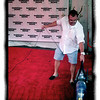 May 4, 2012 - After waiting for more than an hour on the red carpet for something to happen, you'll shoot anything - even the guy vacuuming it. (141/366)