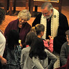 October 7, 2012 - I caught some other standard shots in Sunday's service, but I really was happy to have gotten this moment of the children's church kids taking communion. (299/366)