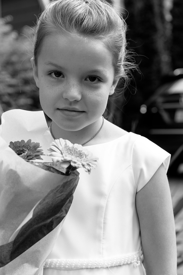 Mother's Day and Fiona and Eva's 1st Communion