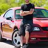Semaine 20 - Week 20<br /> <br /> Martin<br /> <br /> Je suis sorti dans le Pontiac avec Martin pour prendre quelques photos de sa voiture.  Martin est très fier de sa voiture, une Ford Mustang GT qui fait pas mal de bruit et qui aime consommer l'essence!<br /> <br /> =-=-=-=-=-=-=-=-=-=-=-=-=-=-=-=-=-=-=-=-=-<br /> <br /> Martin and I went out into the Pontiac to photograph his car.  He loves his car, a Ford Mustang GT that makes lots of noise and drinks lots of gas!